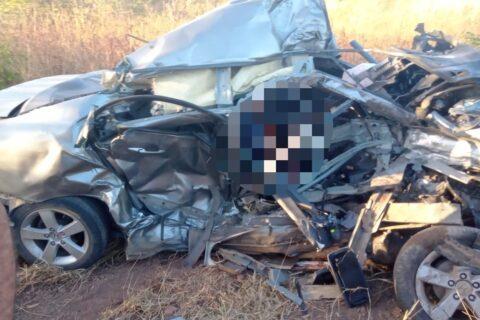 Grave acidente de trânsito deixa vítima fatal na zona rural de Quixadá