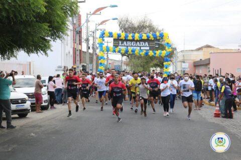 Veja o vídeo: A Sejuvi realizou o 1° Circuito de Caminhada e Corrida do Sertão Central