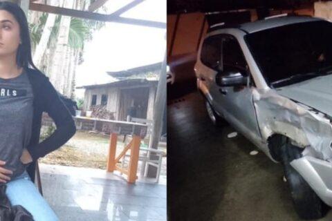Jovem morre atropelada após ser vítima de assédio enquanto falava com namorado, em Santa Catarina