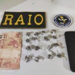 Equipe CBRaio realiza prisão por tráfico de drogas em Pedra Branca
